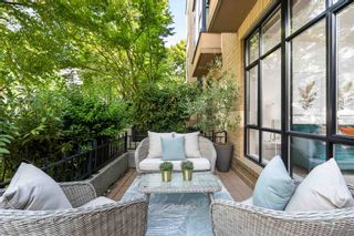 """Photo 16: 104 2175 SALAL Drive in Vancouver: Kitsilano Condo for sale in """"Sovana"""" (Vancouver West)  : MLS®# R2604772"""