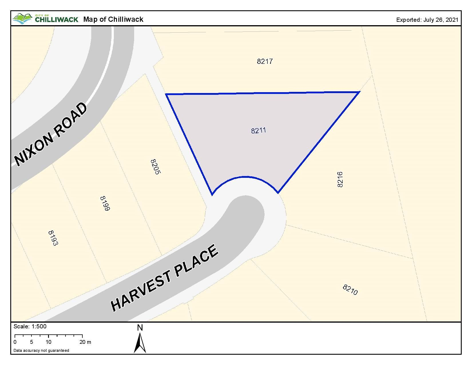 Main Photo: 8211 HARVEST Place in Chilliwack: Eastern Hillsides Land for sale : MLS®# R2605115