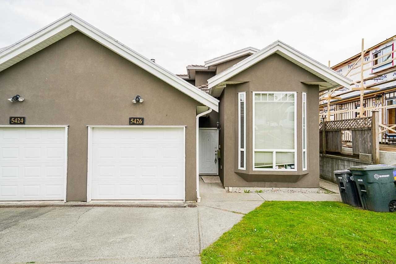 Main Photo: 5426 CHAFFEY Avenue in Burnaby: Central Park BS 1/2 Duplex for sale (Burnaby South)  : MLS®# R2578061