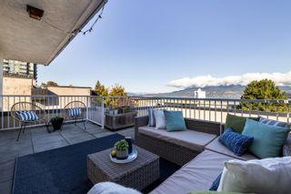 "Photo 1: 405 2234 W 1ST Avenue in Vancouver: Kitsilano Condo for sale in ""OCEAN VILLA"" (Vancouver West)  : MLS®# R2625369"