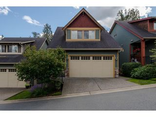 """Photo 1: 8 36169 LOWER SUMAS MTN Road in Abbotsford: Abbotsford East Townhouse for sale in """"Junction Creek"""" : MLS®# R2283767"""