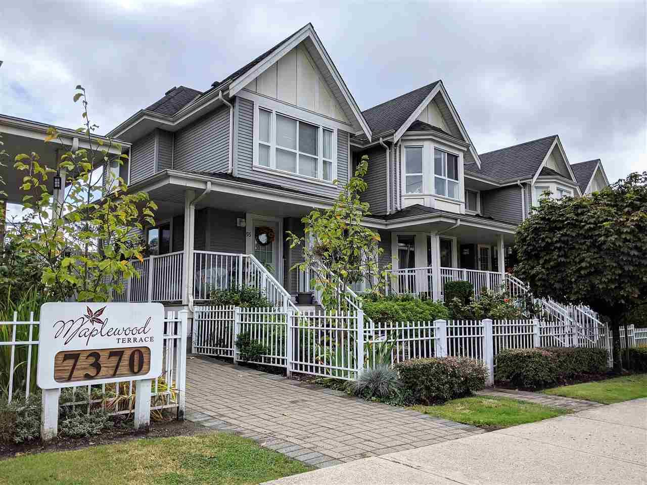 Main Photo: 37 7370 STRIDE AVENUE in Burnaby: Edmonds BE Townhouse for sale (Burnaby East)  : MLS®# R2504221