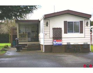 Photo 1: 56 45111 WOLFE Road in Chilliwack: Chilliwack  W Young-Well Manufactured Home for sale : MLS®# H2701101