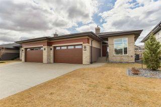 Photo 1: 910 WOOD Place in Edmonton: Zone 56 House Half Duplex for sale : MLS®# E4239285