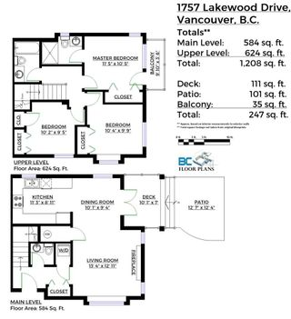 Photo 20: 1757 LAKEWOOD DRIVE in Vancouver: Grandview VE 1/2 Duplex for sale (Vancouver East)  : MLS®# R2096548