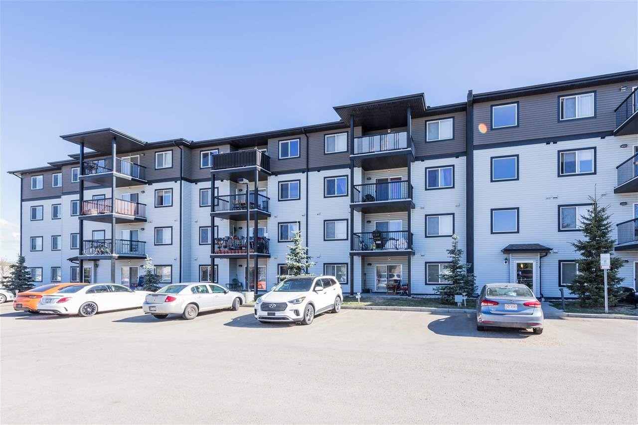 Main Photo: 455 1196 Hyndman Road in Edmonton: Zone 35 Condo for sale : MLS®# E4242682