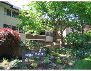 """Photo 1: 212 316 CEDAR Street in New_Westminster: Sapperton Condo for sale in """"REGAL MANOR"""" (New Westminster)  : MLS®# V758927"""