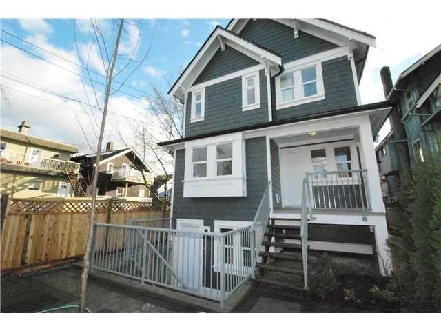 Photo 1: Photos: 755 E 11TH AV in Vancouver: Mount Pleasant VE 1/2 Duplex for sale (Vancouver East)  : MLS®# V1027526
