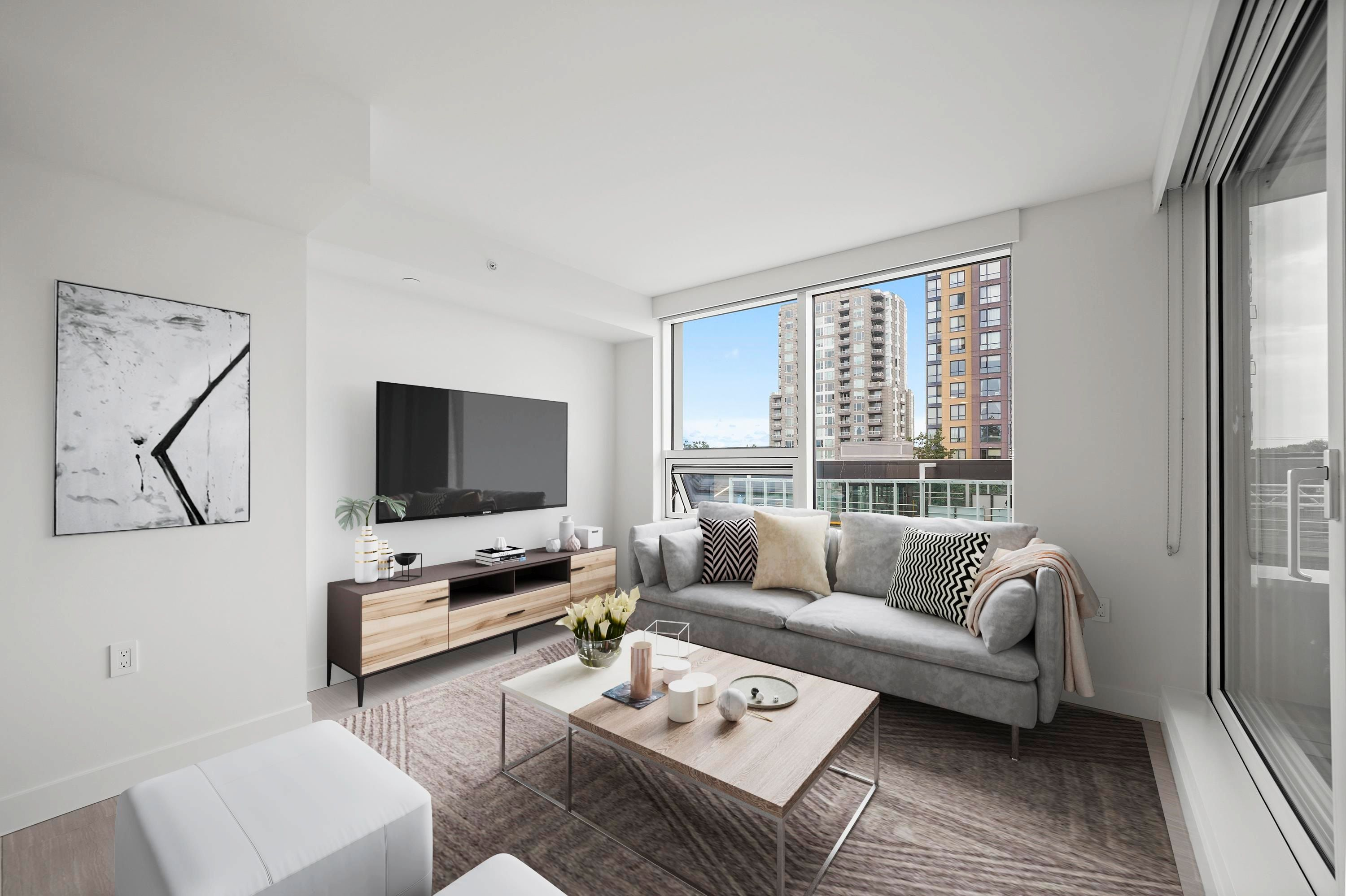 """Main Photo: 308 5058 JOYCE Street in Vancouver: Collingwood VE Condo for sale in """"JOYCE BY WESTBANK"""" (Vancouver East)  : MLS®# R2617794"""