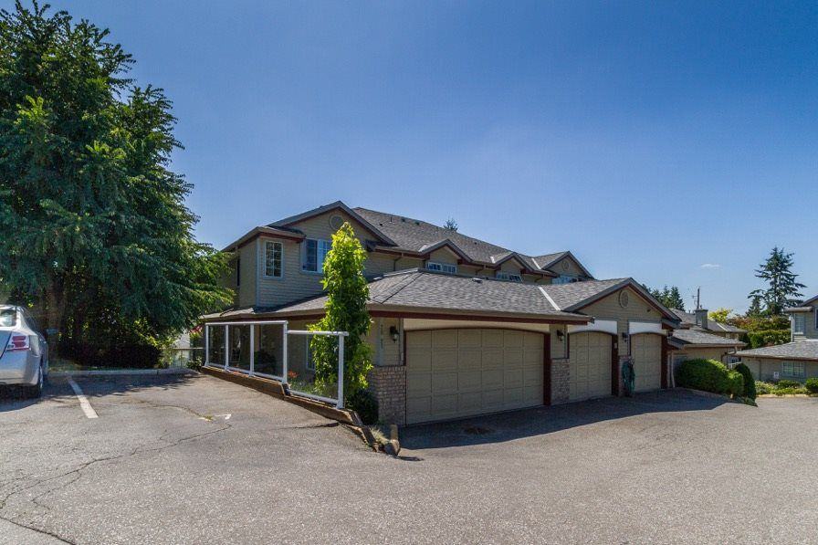 Main Photo: 20 11502 BURNETT Street in Maple Ridge: East Central Townhouse for sale : MLS®# R2094879