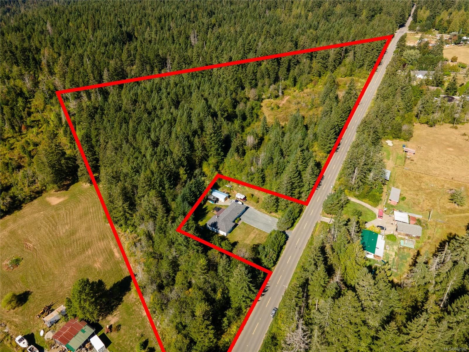 Main Photo: 7550 Beaver Creek Rd in : PA Alberni Valley Land for sale (Port Alberni)  : MLS®# 862182