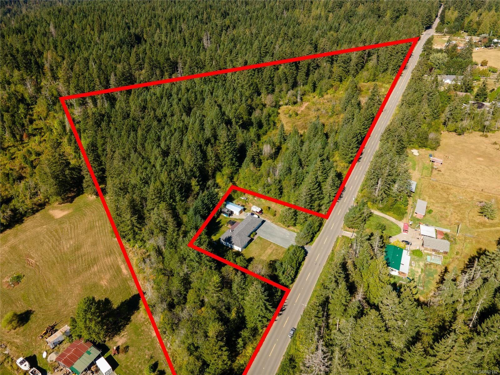 Main Photo: 7550 Beaver Creek Rd in Port Alberni: PA Alberni Valley Land for sale : MLS®# 862182
