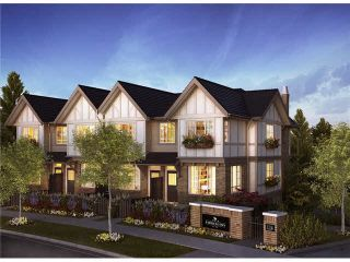 Photo 1: 57 1338 HAMES Crescent in Coquitlam: Burke Mountain Townhouse for sale : MLS®# V1078090
