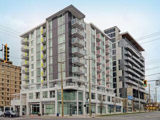 Photo 1: 801 1090 Johnson St in : Vi Downtown Condo for sale (Victoria)  : MLS®# 882239