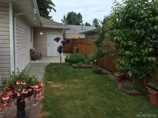 Photo 11: A 1603 BURGESS ROAD in COURTENAY: CV Courtenay City Half Duplex for sale (Comox Valley)  : MLS®# 704314