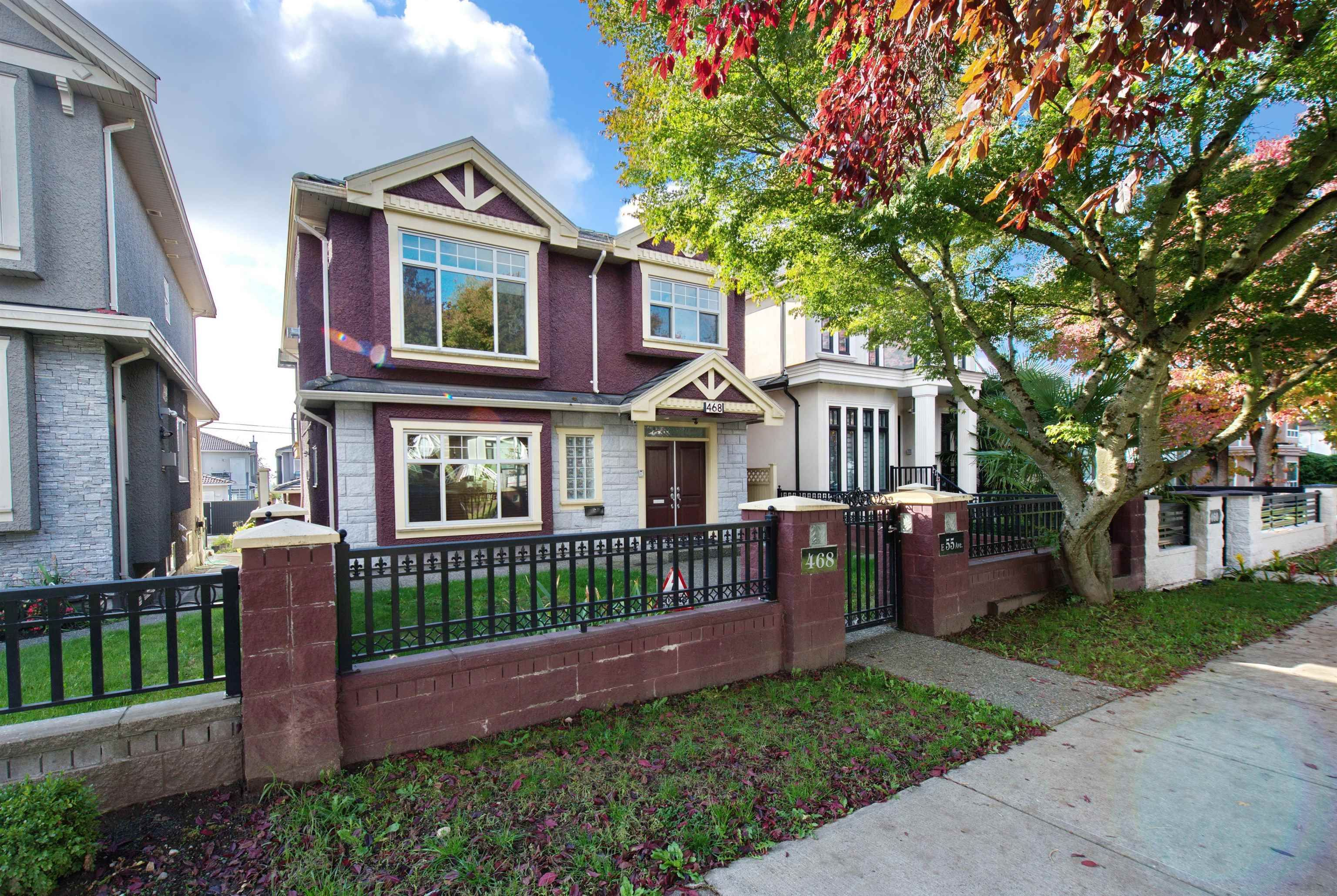 Main Photo: 468 E 55TH Avenue in Vancouver: South Vancouver House for sale (Vancouver East)  : MLS®# R2623939