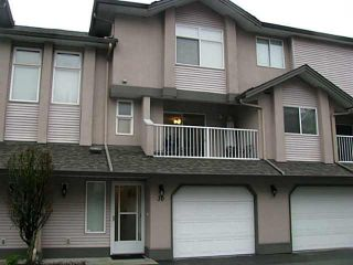 """Photo 1: 30 2538 PITT RIVER Road in Port Coquitlam: Mary Hill Townhouse for sale in """"RIVERCOURT"""" : MLS®# V1098257"""