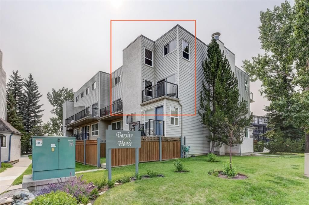 Main Photo: 211 3615A 49 Street NW in Calgary: Varsity Apartment for sale : MLS®# A1131604