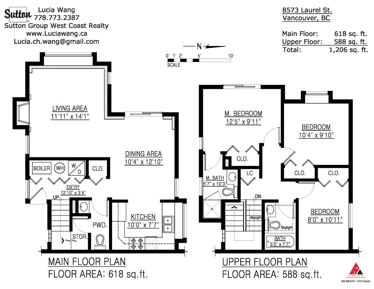 Photo 12: Photos: 8573 LAUREL Street in Vancouver: Marpole 1/2 Duplex for sale (Vancouver West)  : MLS®# R2036216