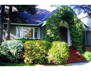 Photo 1: 3505 E 22ND AV in Vancouver: Renfrew Heights House for sale (Vancouver East)  : MLS®# V607656