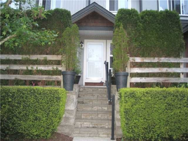 """Main Photo: 36 1055 RIVERWOOD Gate in Port Coquitlam: Riverwood Townhouse for sale in """"MOUNTAINVIEWS ESTATES"""" : MLS®# V1064237"""