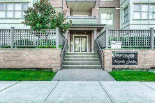 "Photo 1: 307 1988 SUFFOLK Avenue in Port Coquitlam: Glenwood PQ Condo for sale in ""Magnolia Gardens"" : MLS®# R2308088"