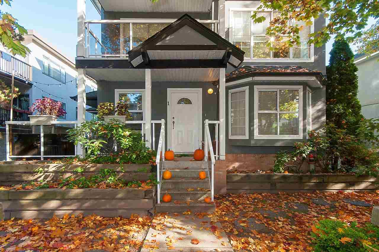 Main Photo: 1 3238 QUEBEC STREET in Vancouver: Main Townhouse for sale (Vancouver East)  : MLS®# R2317662