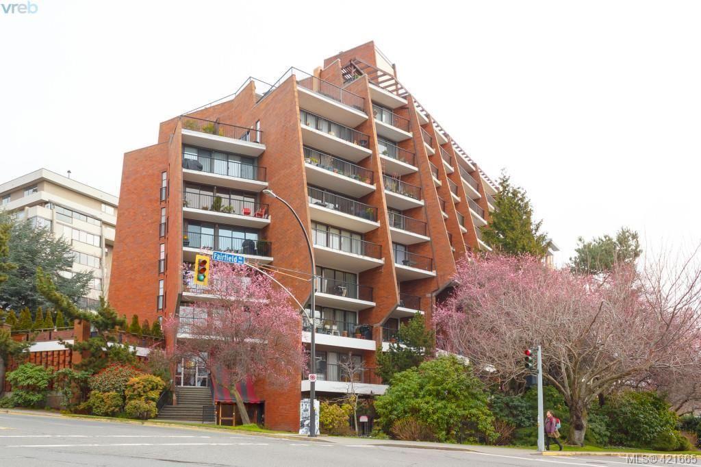 Main Photo: 304 777 Blanshard St in VICTORIA: Vi Downtown Condo for sale (Victoria)  : MLS®# 834512