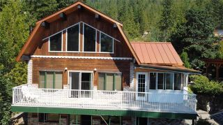 Photo 1: 110 Mann Road, in Sicamous: House for sale : MLS®# 10236126