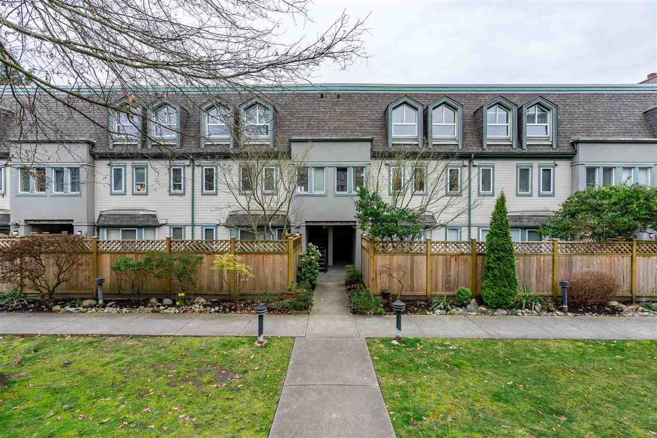 "Main Photo: 21 1215 BRUNETTE Avenue in Coquitlam: Maillardville Townhouse for sale in ""Fontain Bleu"" : MLS®# R2556569"