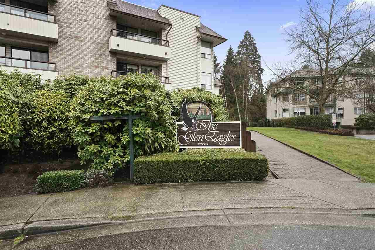 Welcome to The Glen Eagles a 45+ complex just steps from Coquitlam Centre, SkyTrain and West Coast Express.