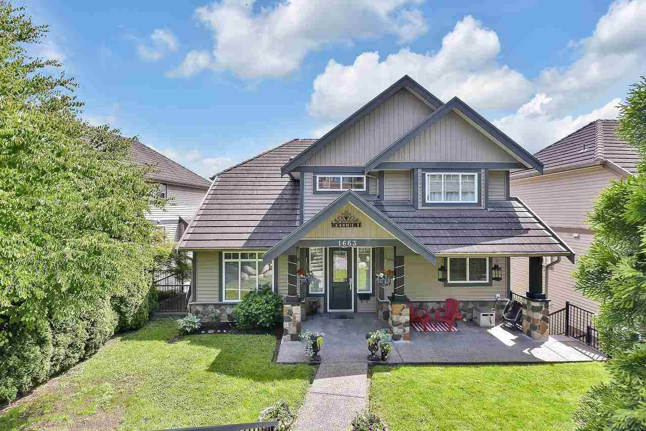 """Main Photo: 1663 PITT RIVER Road in Port Coquitlam: Lower Mary Hill House for sale in """"KNAPPEN GARDEN"""" : MLS®# R2590848"""