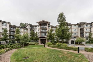 "Photo 1: 411 3050 DAYANEE SPRINGS Boulevard in Coquitlam: Westwood Plateau Condo for sale in ""BRIDGES"" : MLS®# R2608259"