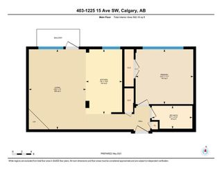 Photo 13: 403 1225 15 Avenue SW in Calgary: Downtown West End Apartment for sale : MLS®# A1107654