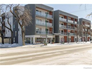 Photo 1: 155 Sherbrook Street in Winnipeg: West End / Wolseley Condominium for sale (West Winnipeg)  : MLS®# 1604815
