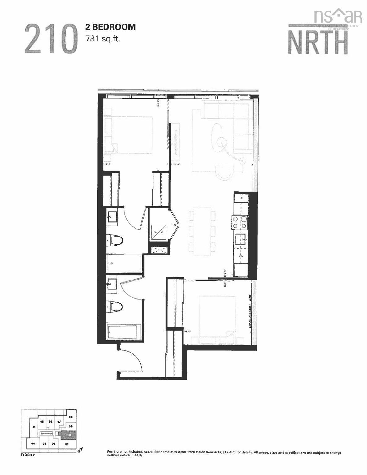 Photo 6: Photos: 210 2842-2856 Gottingen Street in Halifax: 3-Halifax North Residential for sale (Halifax-Dartmouth)  : MLS®# 202120929