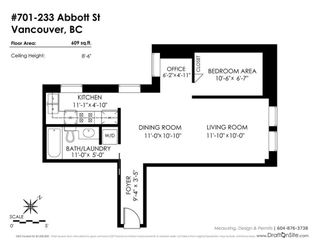 """Photo 17: 701 233 ABBOTT Street in Vancouver: Downtown VW Condo for sale in """"Abbott Place"""" (Vancouver West)  : MLS®# R2578437"""