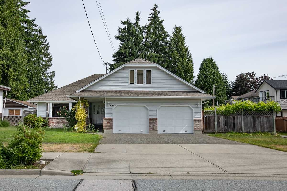 Main Photo: 931 COTTONWOOD Avenue in Coquitlam: Coquitlam West House for sale : MLS®# R2558688