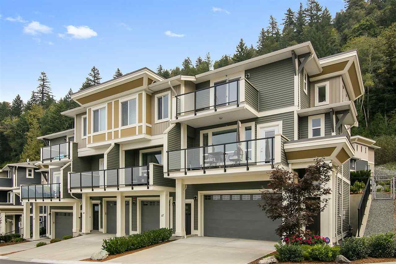"""Main Photo: 48 6026 LINDEMAN Street in Chilliwack: Promontory Townhouse for sale in """"Hillcrest Lane"""" (Sardis)  : MLS®# R2504692"""