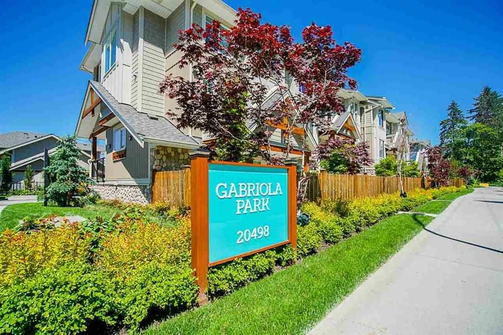 """Main Photo: 128 20498 82 Avenue in Langley: Willoughby Heights Townhouse for sale in """"Gabriola Park"""" : MLS®# R2511699"""