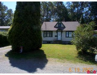 Photo 1: 33740 MOREY Avenue in Abbotsford: Central Abbotsford House for sale : MLS®# F2716610
