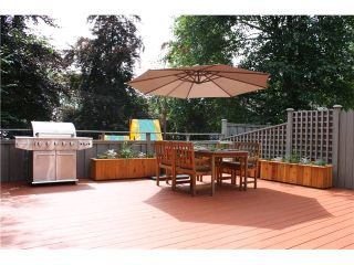 """Photo 1: 3480 LYNMOOR Place in Vancouver: Champlain Heights Townhouse for sale in """"MOORPARK"""" (Vancouver East)  : MLS®# V900458"""