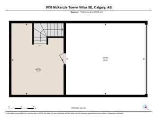Photo 35: 1038 Mckenzie Towne Villas SE in Calgary: McKenzie Towne Row/Townhouse for sale : MLS®# A1086288