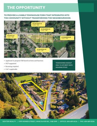 Photo 2: 4 Lot Land Assembly Listing in West Vancouver