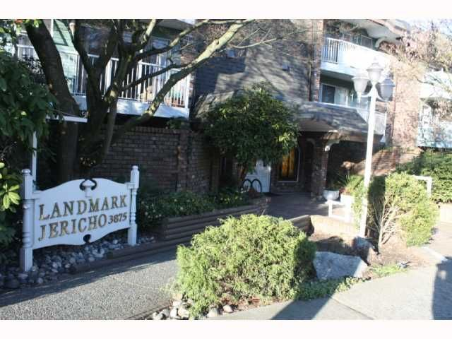 """Main Photo: 217 3875 W 4TH Avenue in Vancouver: Point Grey Condo for sale in """"LANDMARK JERICHO"""" (Vancouver West)  : MLS®# V814610"""