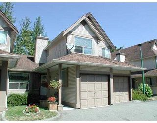 "Photo 1: 11 23151 HANEY BYPASS BB in Maple Ridge: East Central Townhouse for sale in ""STONEHOUSE ESTATES"" : MLS®# V640417"