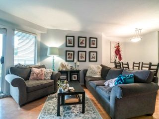 """Photo 7: 210 8450 JELLICOE Street in Vancouver: South Marine Condo for sale in """"THE BOARDWALK"""" (Vancouver East)  : MLS®# R2406380"""