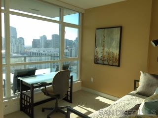 Photo 13: DOWNTOWN Condo for rent : 2 bedrooms : 325 7Th Ave #1507 in San Diego