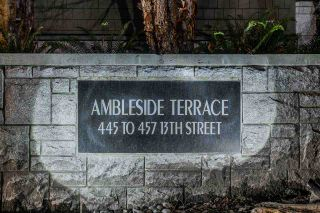 """Photo 21: 453 13TH Street in West Vancouver: Ambleside Townhouse for sale in """"Ambleside Terrace"""" : MLS®# R2545433"""