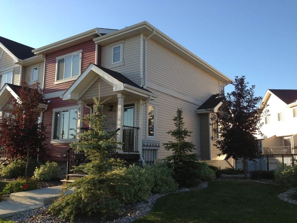 Main Photo: 17 5146 MULLEN Road in Edmonton: Zone 14 Townhouse for sale : MLS®# E4256261